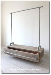 Trendy Wood Industrial Furniture Design Ideas To Try 35