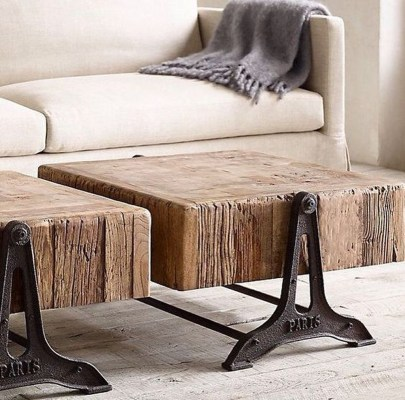 Trendy Wood Industrial Furniture Design Ideas To Try 45
