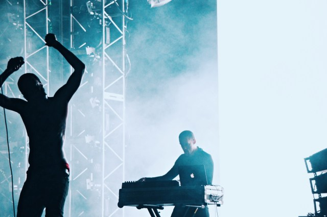 Death Grips  Photo by Madeline Robicheaux