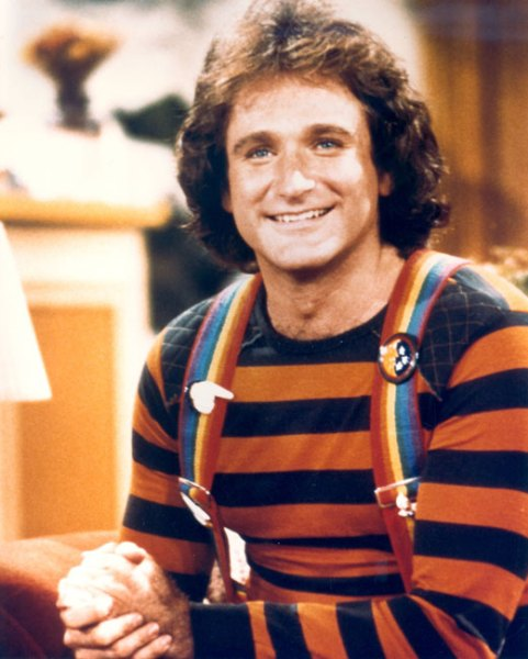 Robin as Mork