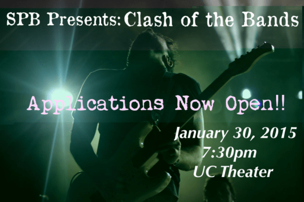 Clash Of the Band Flyer!