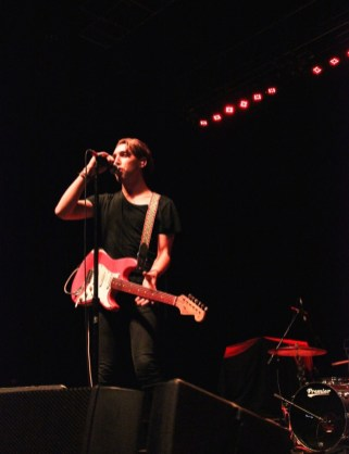 Christo Bowman from Bad Suns performs on stage. (Photo by Rupal Mehta)