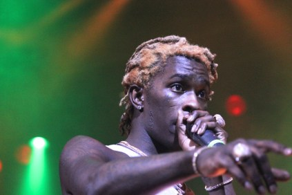 Young Thug at House of Blues on 3/23 (Photo by: Rupal Mehta)
