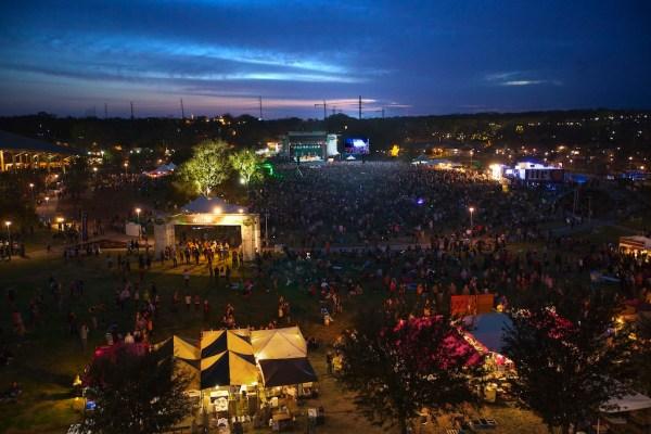 Crowd at butler Park 2014. Photo by Tye Truitt.