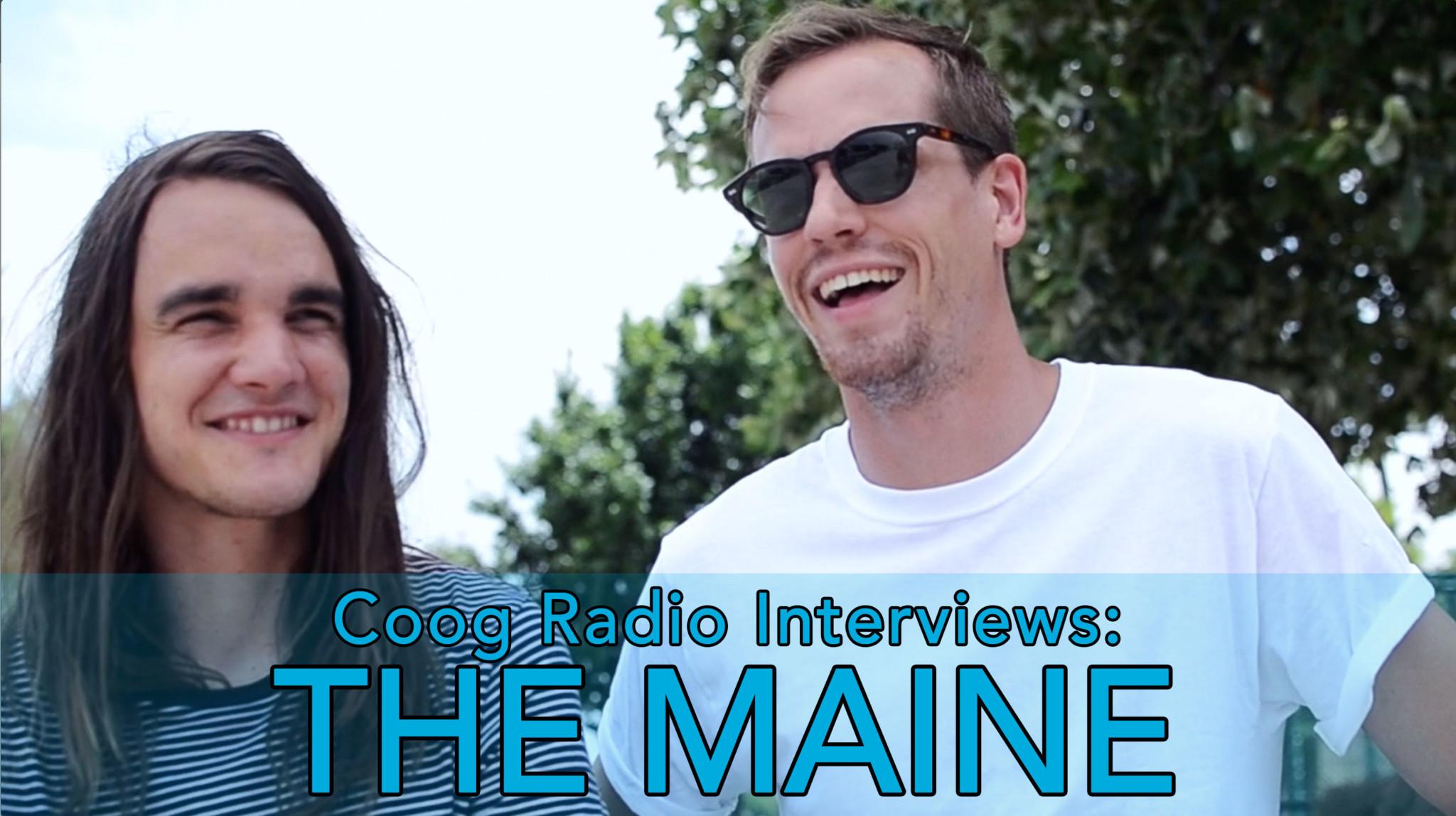 Coog Radio Interviews: The Maine at Vans Warped Tour 2016