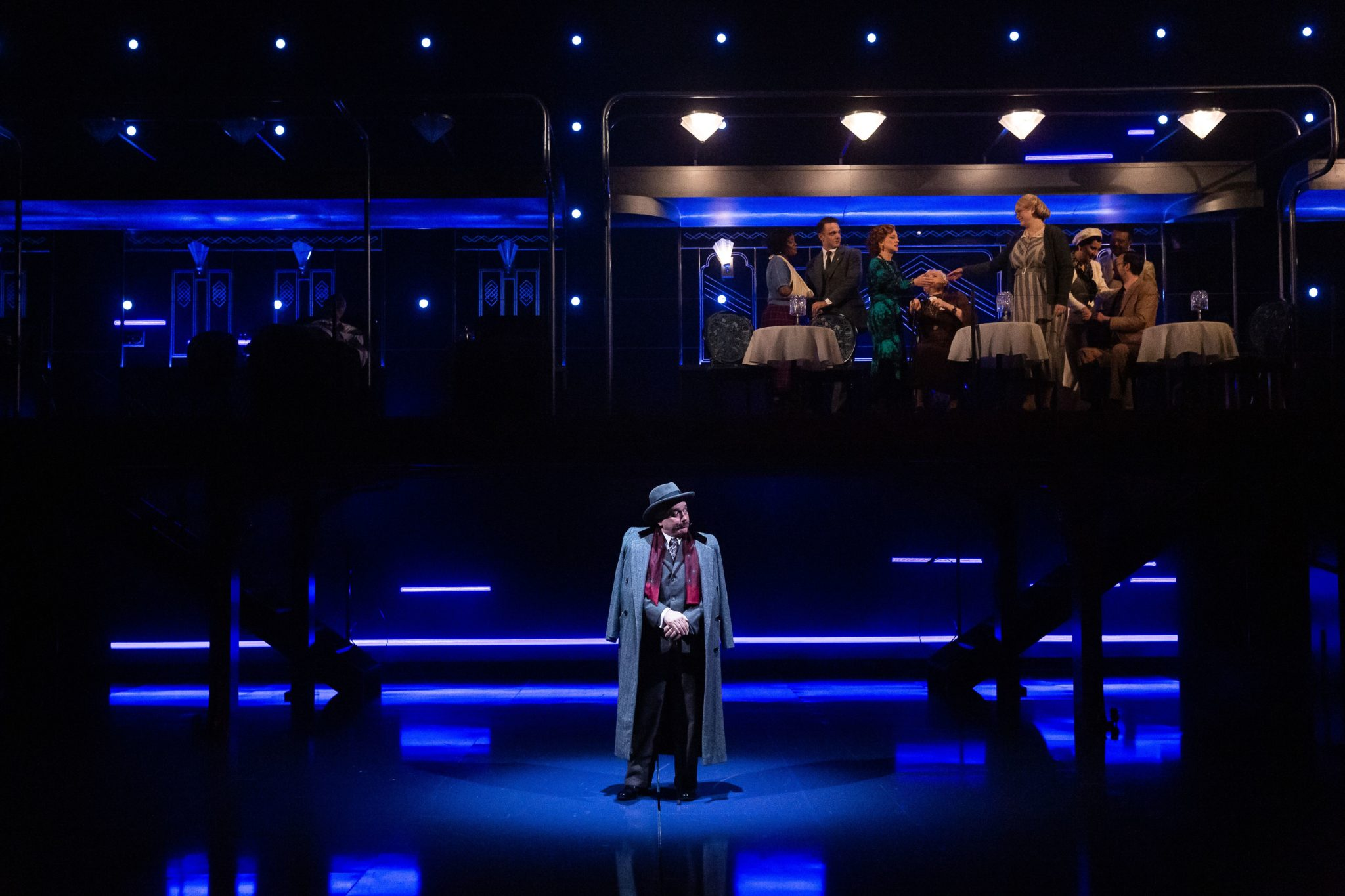 "Wonder on the Alley Theatre's ""Orient Express"""