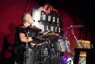 Jake Wyble holding it down. House of Blues HTX August '21.
