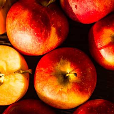 mele in primo piano