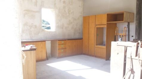 Second hand kitchen retrofitted
