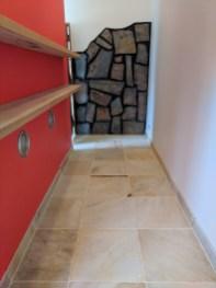 Main bedroom WIR tiles