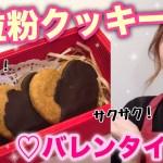 【バレンタイン】サクサクの全粒粉クッキー♡【初料理?動画】/How To Make Cookies!(For Valentine' Day💋)/yurika