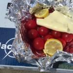 トマトとチーズのホイル焼 アウトドア キャンプ料理