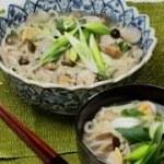 料理レシピ-【あさりとキノコのカルクッス(韓国風うどん)】|ナスラックKitchen