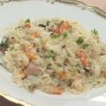 料理レシピ-【簡単炊き込みピラフ】|ナスラックKitchen