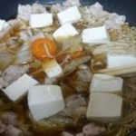 【レシピ】めんつゆでかんたん鍋♪ 超簡単に作れる鍋料理(^_^)v