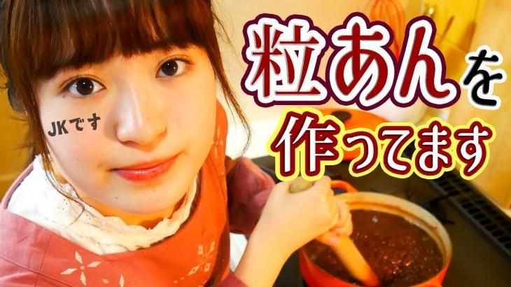 【和菓子が食べたくなる動画】優しい甘さの粒あん&白玉は最高の組み合わせ!