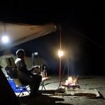春真っ盛りのソロキャンプ(料理したつもりと、逃れられない宿命)