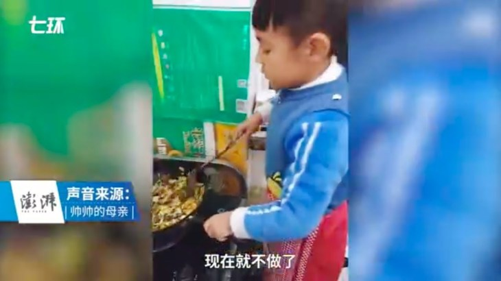 6歳の男の子が自力で料理!レシピ動画を投稿