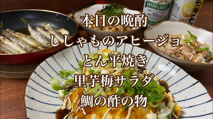 【おつまみ】簡単晩酌レシピ♪4品まとめて作ります【おもてなし料理】