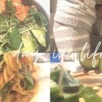 【vlog】一人暮らし ヘルシーな自炊3食 【ご飯   料理   休日】