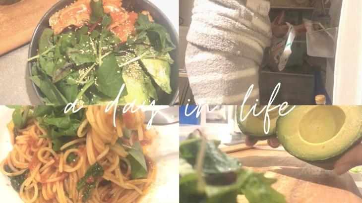 【vlog】一人暮らし ヘルシーな自炊3食 【ご飯 | 料理 | 休日】