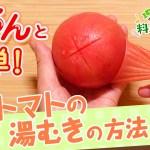 【プロ監修】vol.74 トマトの湯むきの方法【料理の基本】