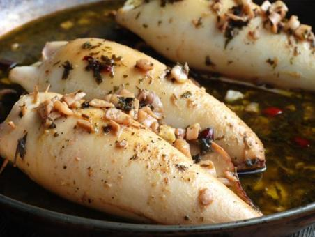 Image result for prepare squid before cooking