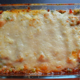 Tuna and Pea Cannelloni