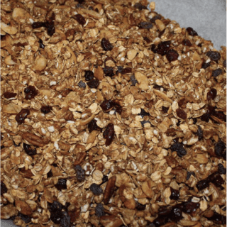 Ginger and Cinnamon Granola