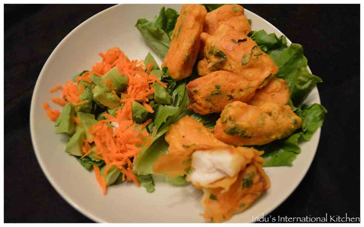 Chickpea Batter Fried Fish (Fish Pakoras)