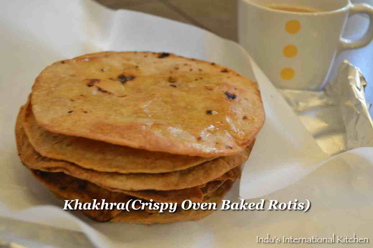 How to make Instant Khakhras (Crispy Oven Baked Rotis)