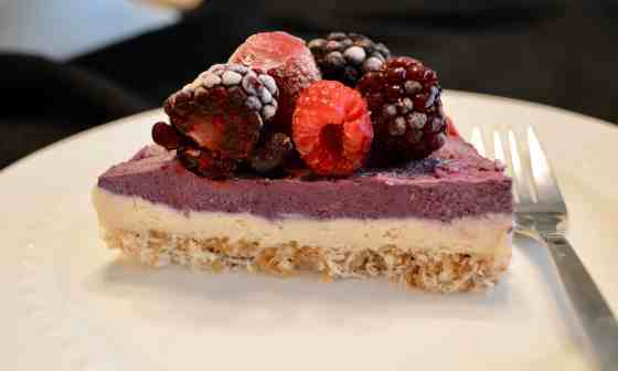 Berry Cheese Cake(Paleo, Vegan)