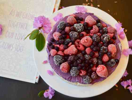 Berry Cheese Cake (paleo, Vegan)