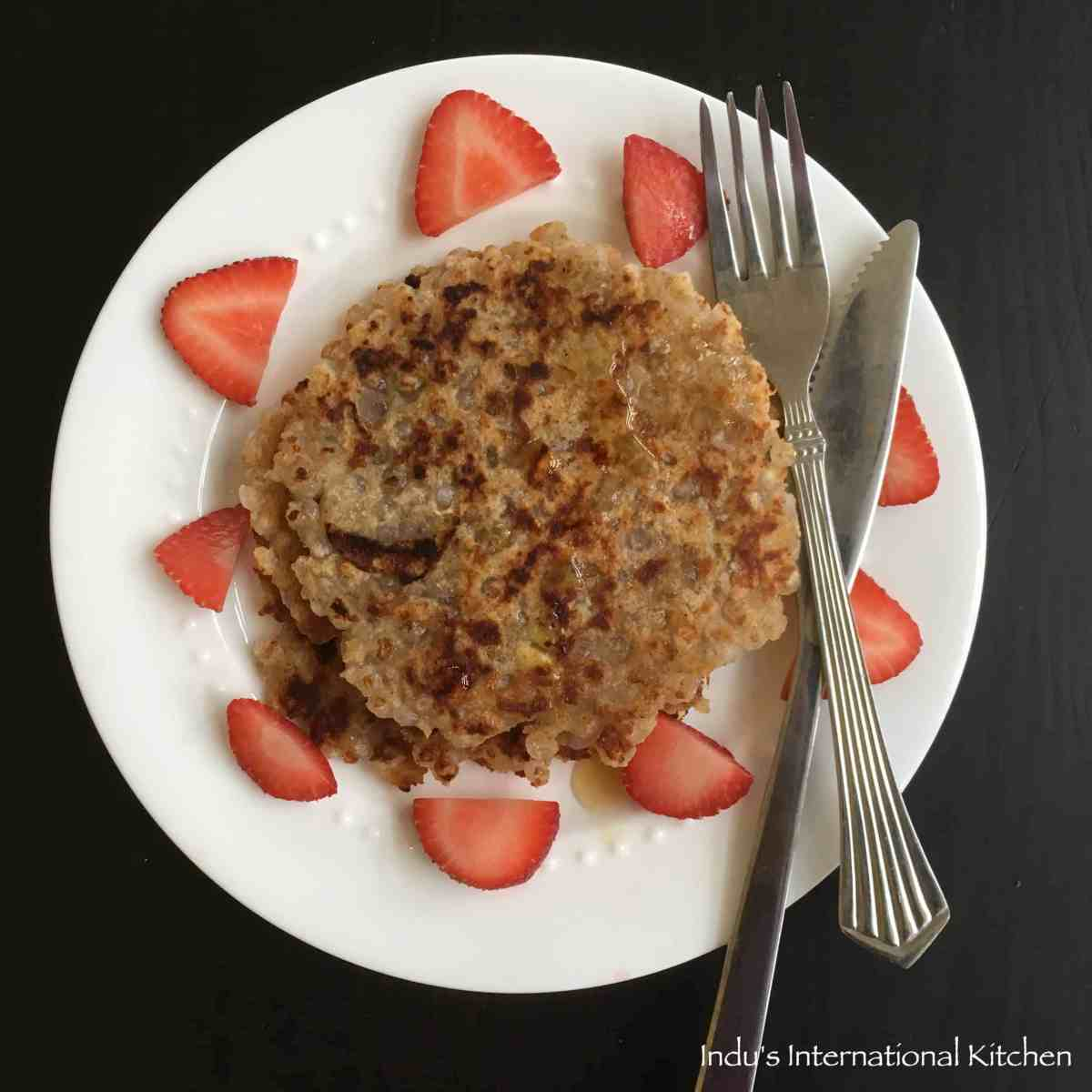Sweet Potato and Tapioca Pearls Pancake (Paleo, AIP)