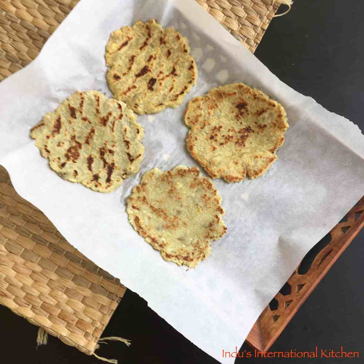 Cauliflower Naan || Paleo and AIP Naan