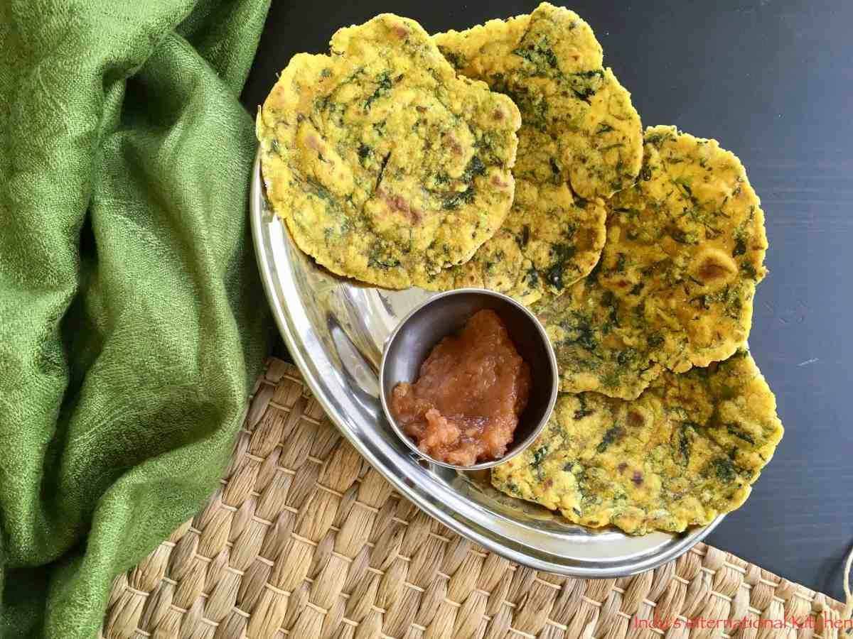 Cassava Fenugreek Flatbread || Grain free Methi Paratha (Paleo, AIP, Vegan)
