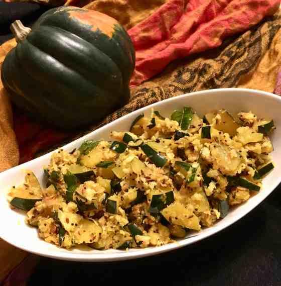 Indian Style Acorn Squash(Paleo, AIP)