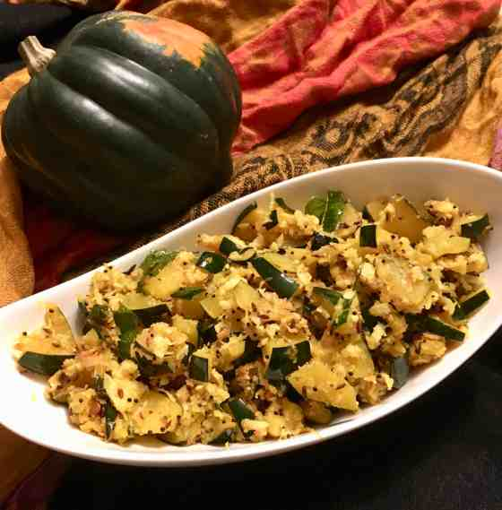Indian Style Acorn Squash(Paleo, AIP)