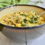 Paleo fish and veggie chowder