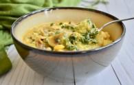 Paleo fish and veggie chowder