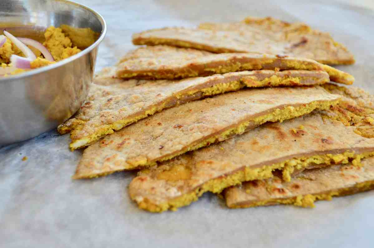 Kheema Paratha || Minced Chicken Stuffed Flatbread (Paleo, AIP)