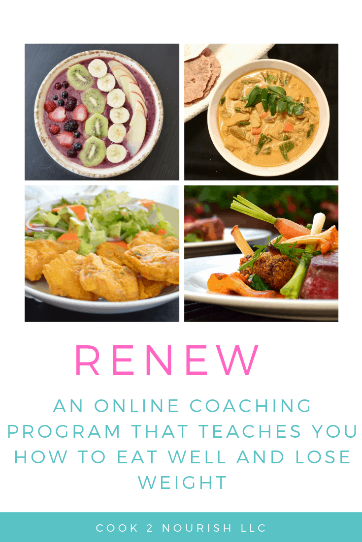 RENEW - An online nutrition coaching program