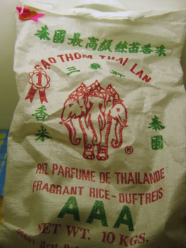 thai fragrant rice