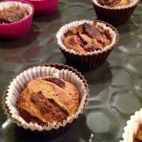 Muffiny kawowe z mąki kokosowej