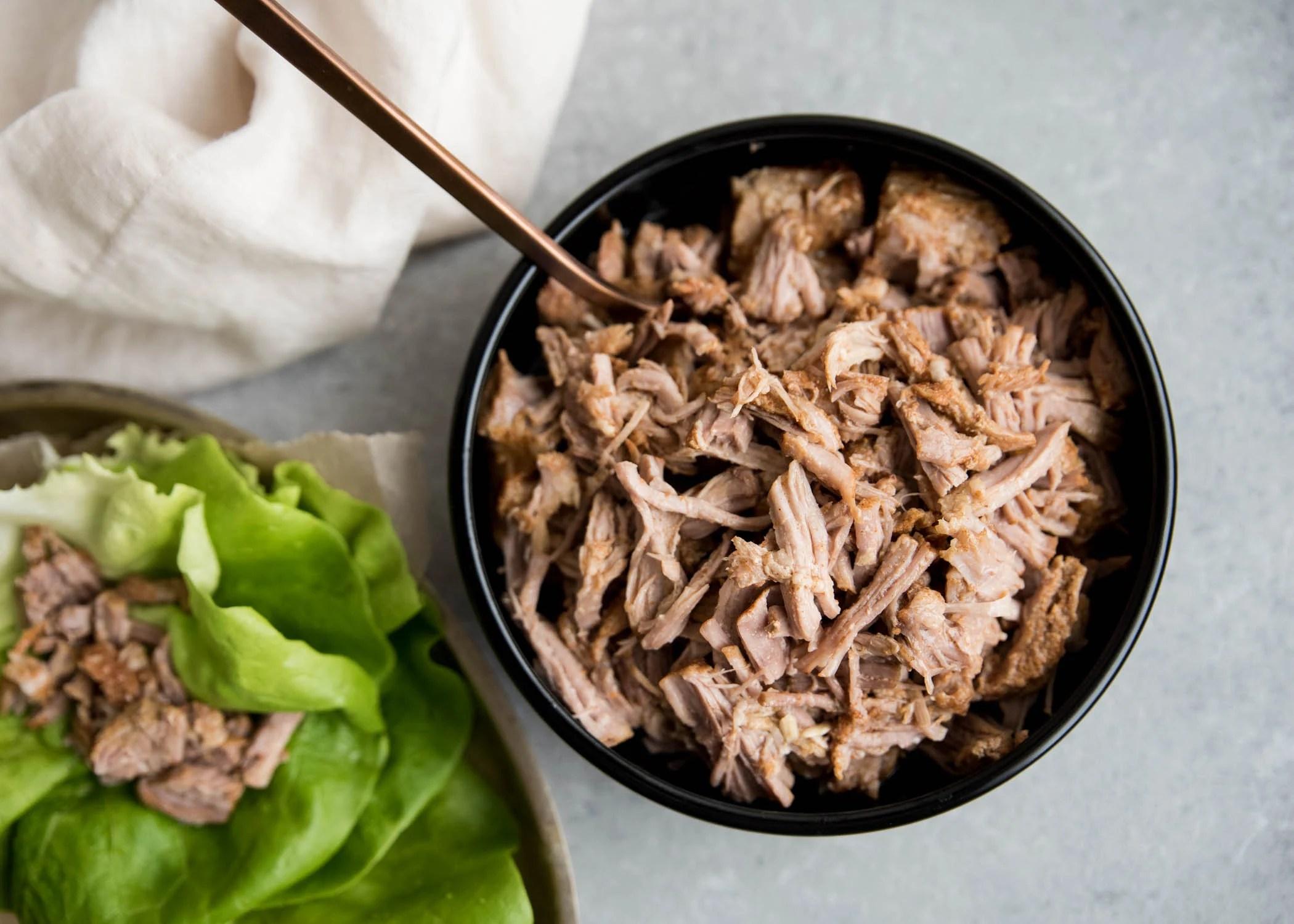 Slow Cooker BBQ Pulled Pork   cookandsavor.com