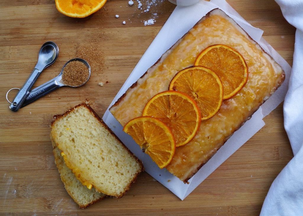 Citrus Ginger Pound Cake