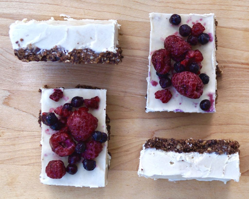 Paleo Vegan Cheesecake (Gluten Free) - Finished
