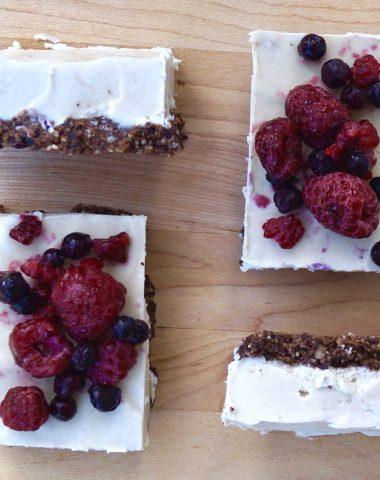 Paleo Vegan Cheesecake (Gluten Free) - Finished