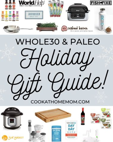Whole30 and Paleo Ultimate Holiday Gift Guide