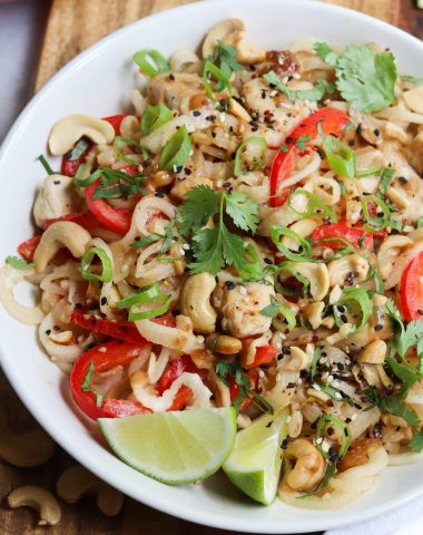 Whole30 Chicken Pad Thai